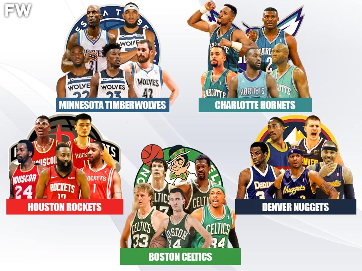5 Legendary Superteams That No One Would Beat: Celtics, Rockets, Nuggets, Timberwolves, Hornets