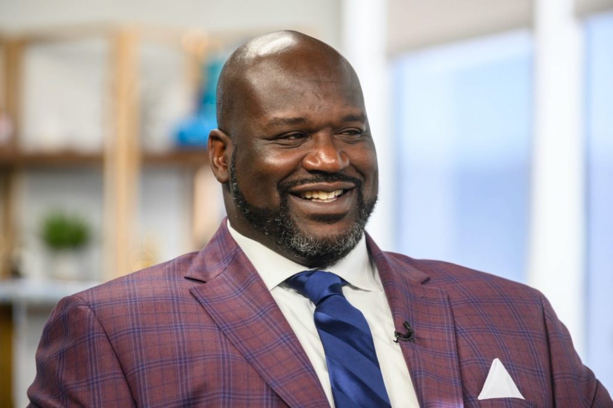 Video: Shaquille O'Neal Can't Stop Laughing While Talking About Paul Pierce
