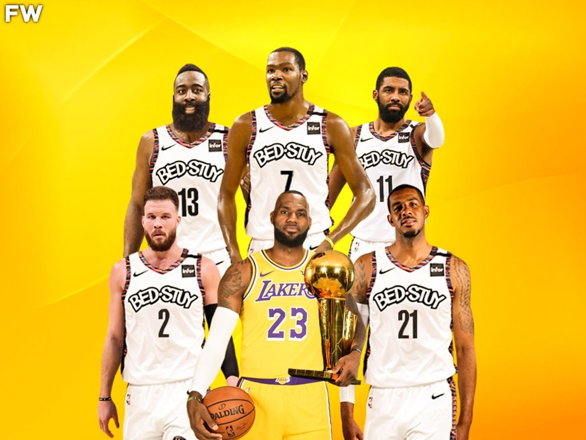 If LeBron James Beats The Nets Superteam, He Will Be The GOAT
