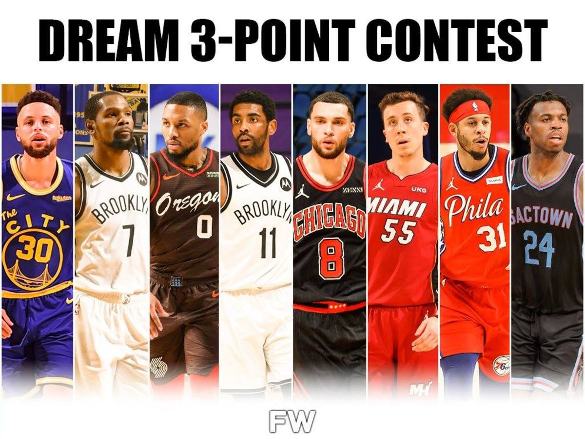 This Would Be The Greatest 3-Point Contest In NBA History: Stephen Curry, Kevin Durant, Damian Lillard, Kyrie Irving
