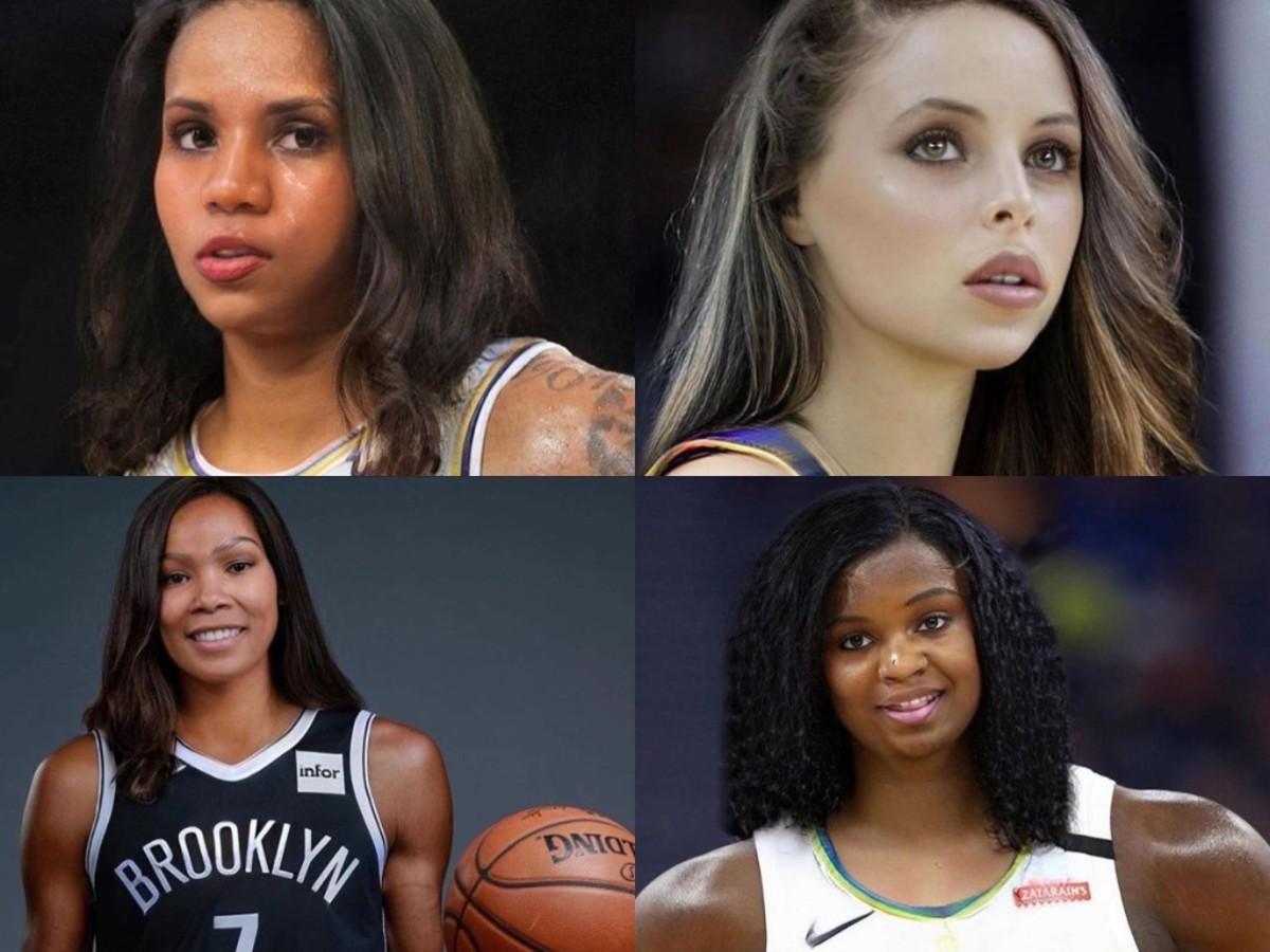 NBA Fan Posts Edits Of NBA Players As Ladies