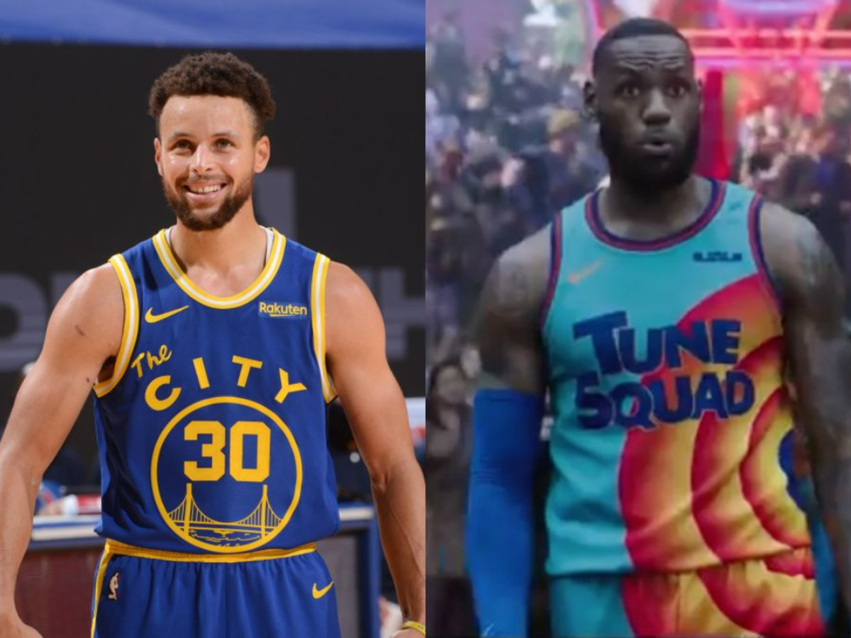"""Stephen Curry On The Space Jam 2 Movie: """"It's Going To Be Great. It's A Legendary Concept, Space Jam One And Then LeBron James."""""""