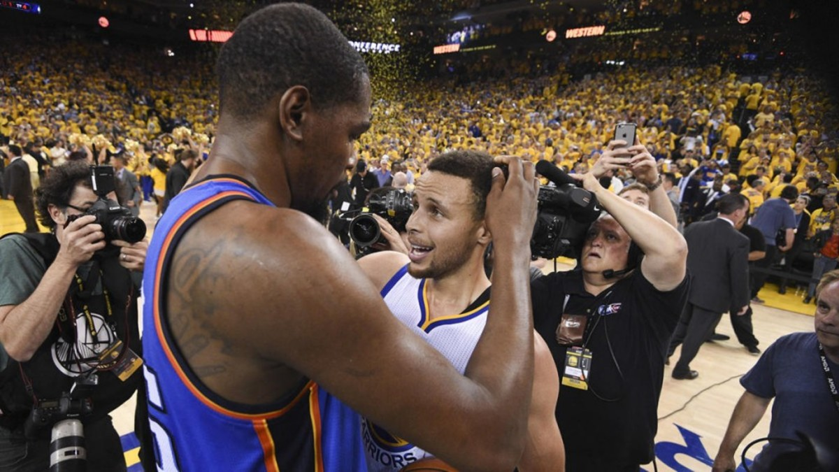 Kevin Durant vs. Stephen Curry