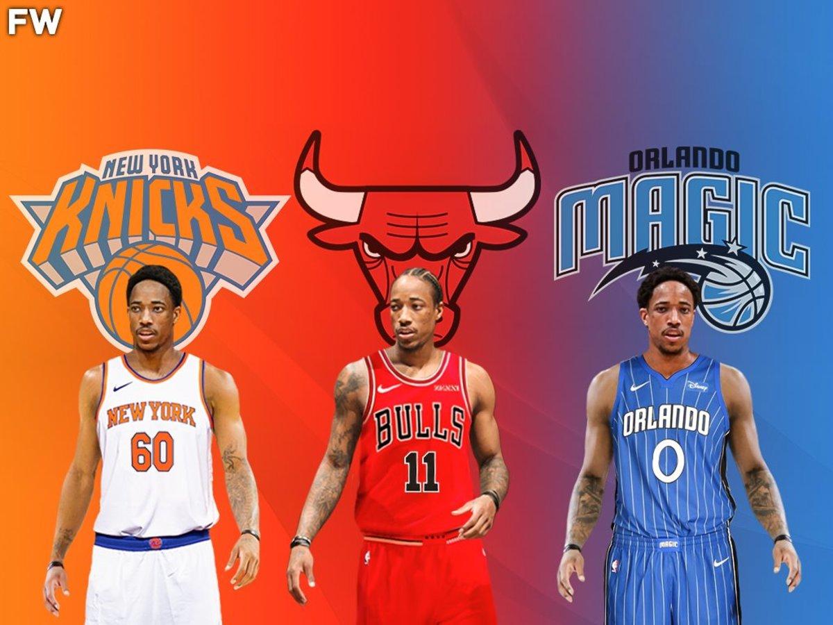 NBA Rumors: Knicks, Bulls And Magic Could Trade For DeMar DeRozan