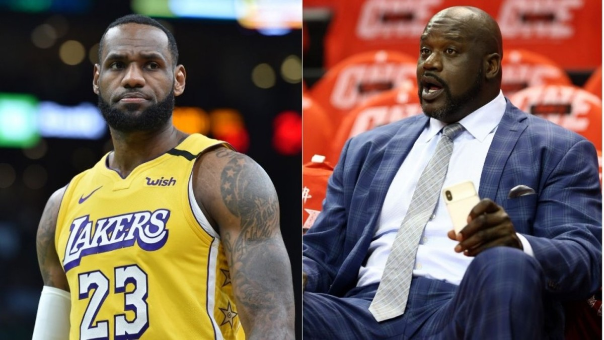 Shaquille O'Neal Picks Four Teammates To Make Unbeatable Super Team: LeBron James, Steph Curry, Zion Williamson, And Klay Thompson