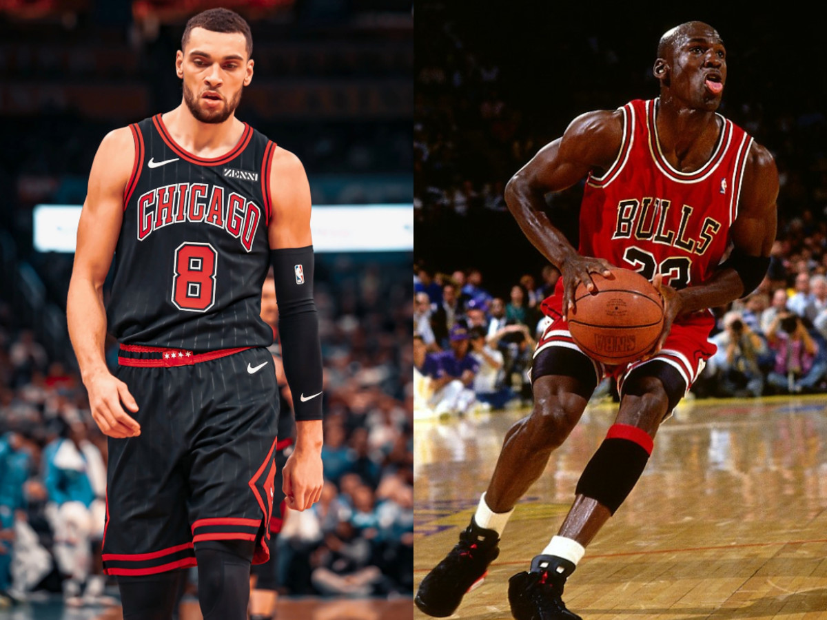 """Zach LaVine On Michael Jordan Scoring 50 Points 38 Times: """"That Dude Is A Ghost. He's A Myth."""""""