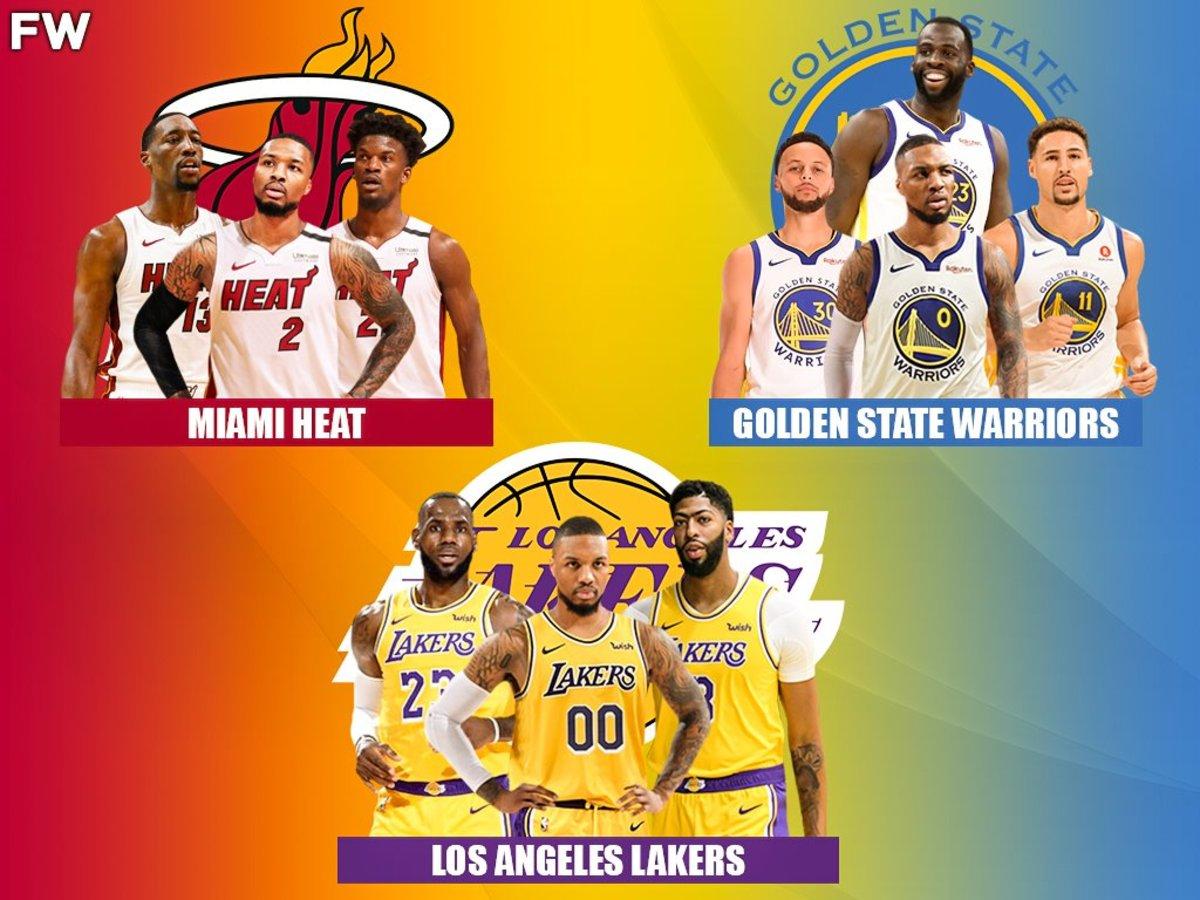If Damian Lillard Wants To Win He Must Join A Superteam: Lakers, Warriors, Heat