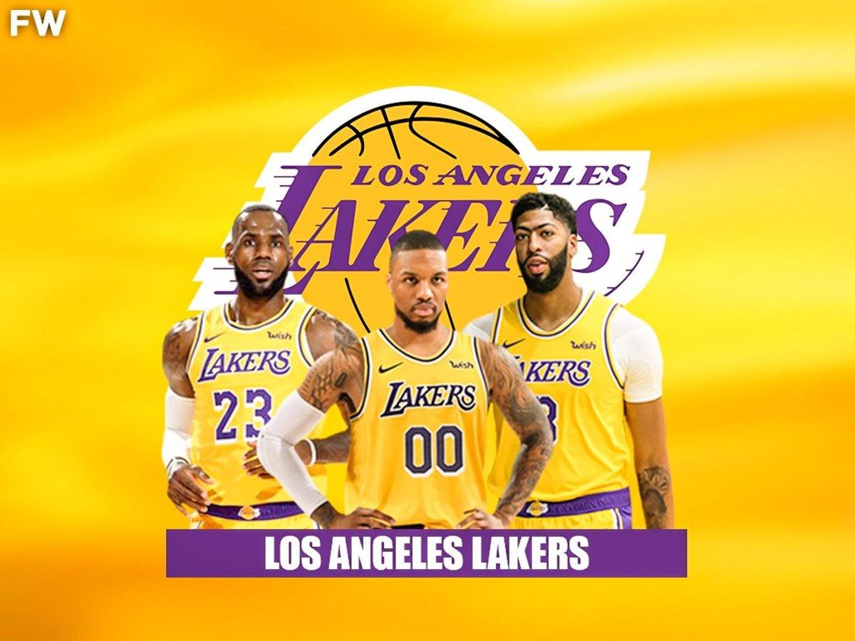 Damian Lillard Los Angeles Lakers