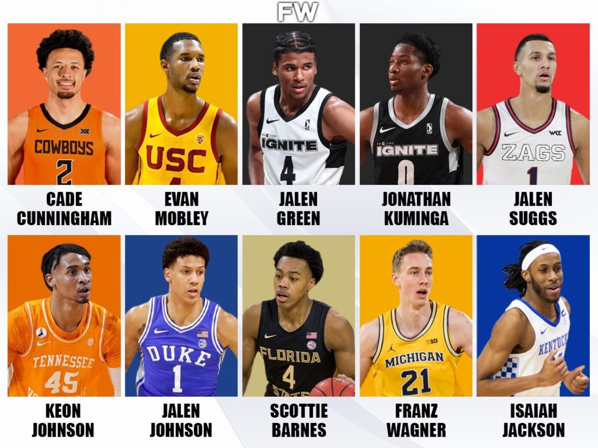 Ranking The Top Prospects For The 2021 NBA Draft: Cade Cunningham, Evan Mobley, And Jalen Green Lead Their Class