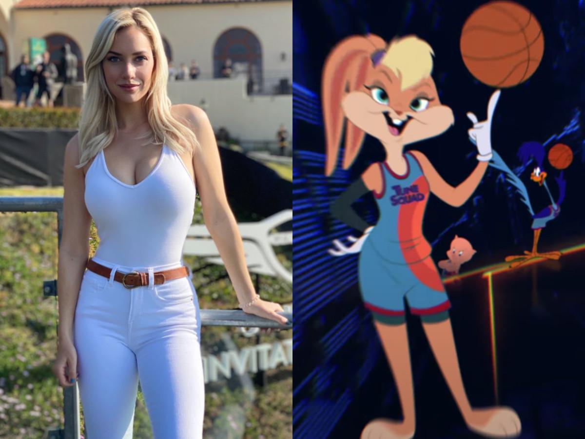 "IG Golfer Paige Spiranac Criticizes Space Jam 2 For Taking Away Lola Bunny's ""Femininity"""