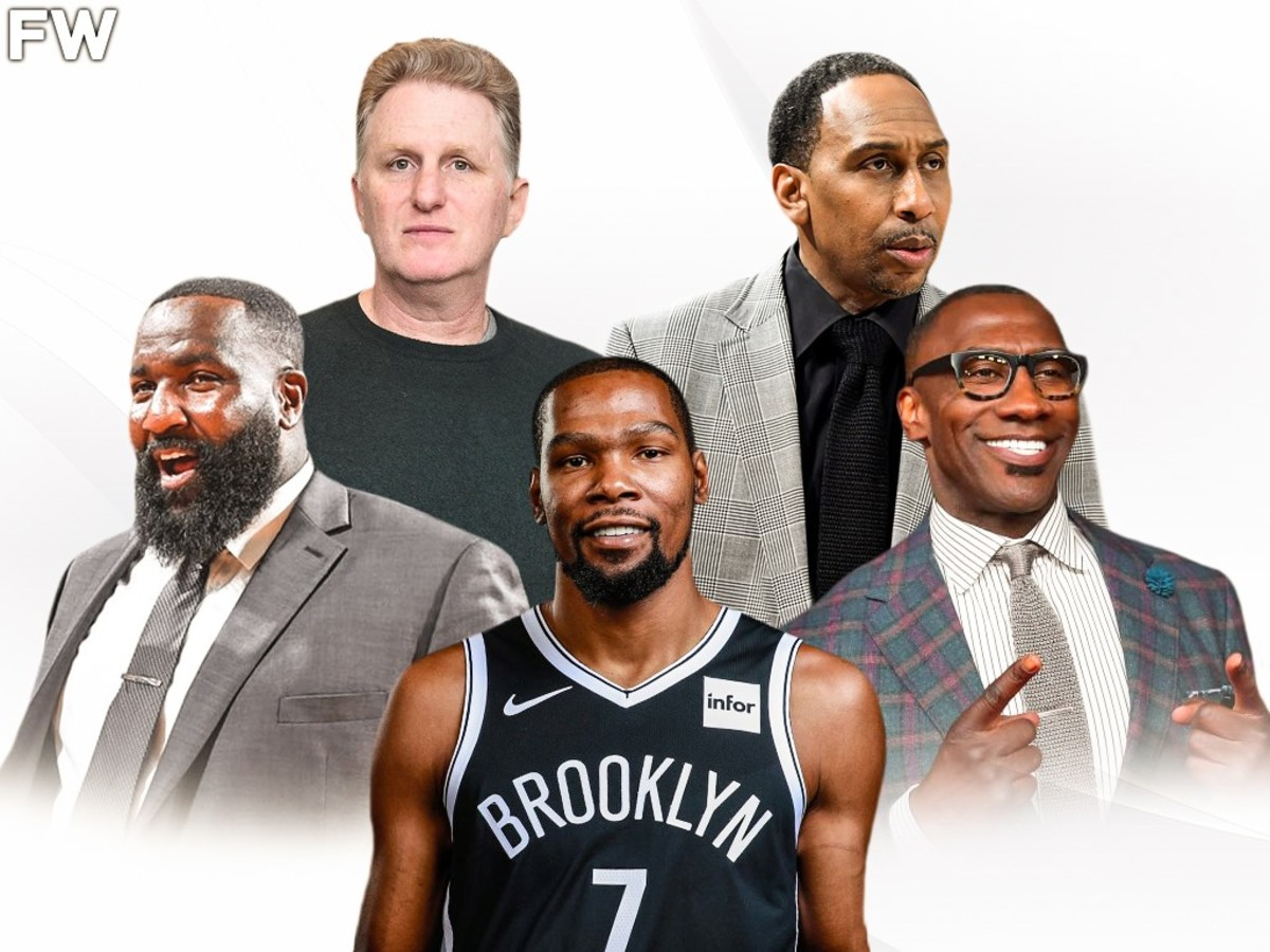 Kevin Durant Is Winning The Battle vs. Media: Kendrick Perkins Cried On TV, Stephen A. Smith Apologized To His Mom, Shannon Sharpe Was Blasted For Bad Journalism And Michael Rapaport Called His Lawyer