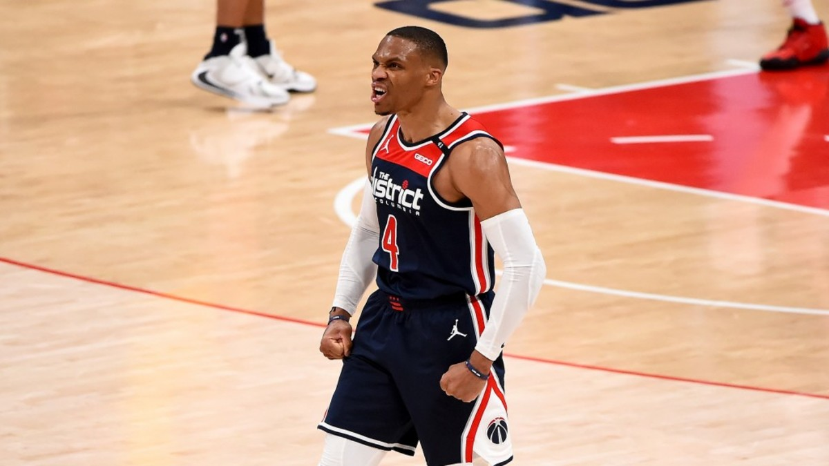 """Washington Wizards' Twitter Account Sends Message To Doubters: """"And Y'all Said Russ Was Washed"""""""
