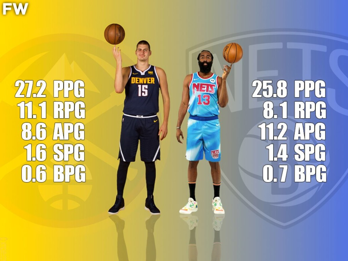 Nikola Jokic vs. James Harden