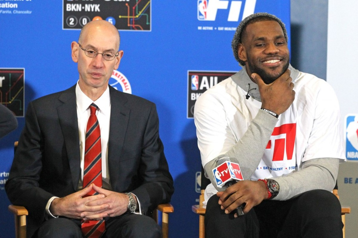 Adam Silver Responds To LeBron James' Criticism Of All-Star Game, Says Some Things Must Be Handled 'In The Family'