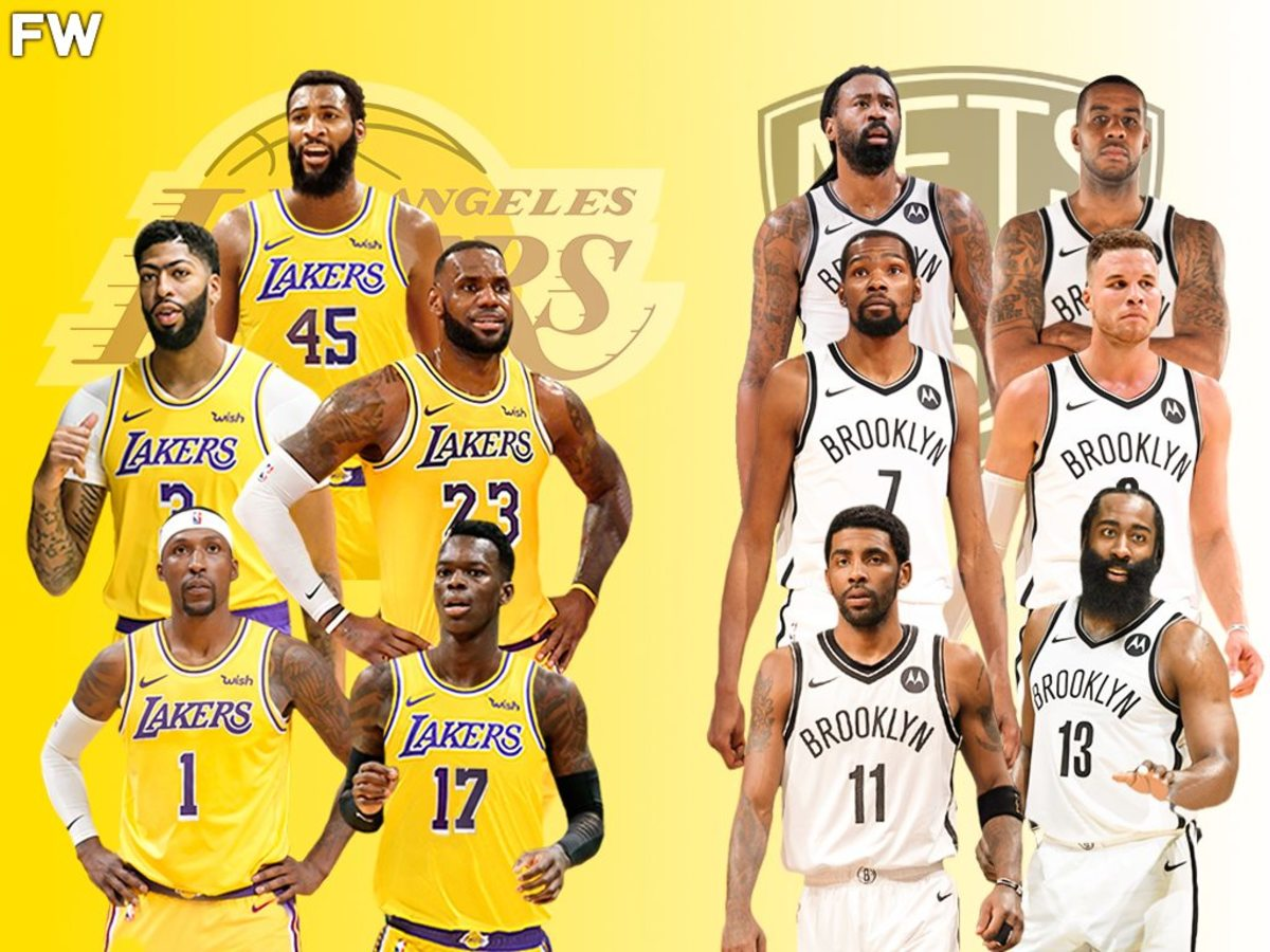 The Full Comparison: Los Angeles Lakers vs. Brooklyn Nets Superteam