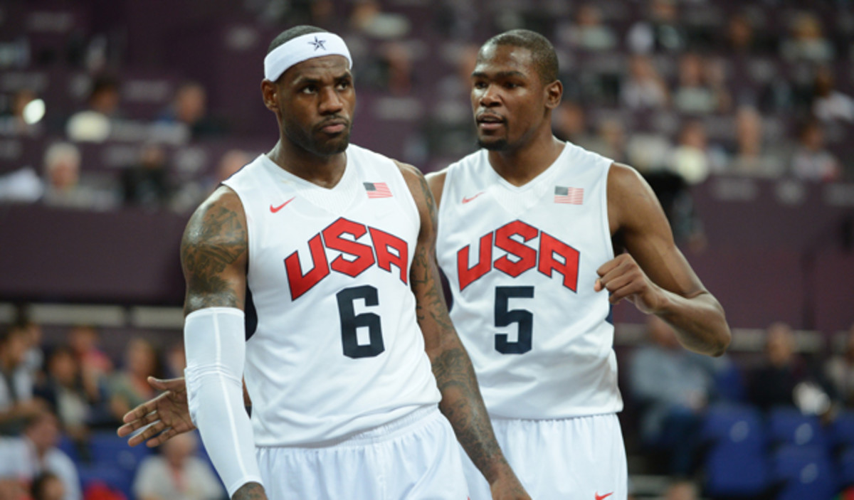 LeBron James, Stephen Curry And Kevin Durant Lead 57 Finalists For U.S. Olympic Men's Basketball Team