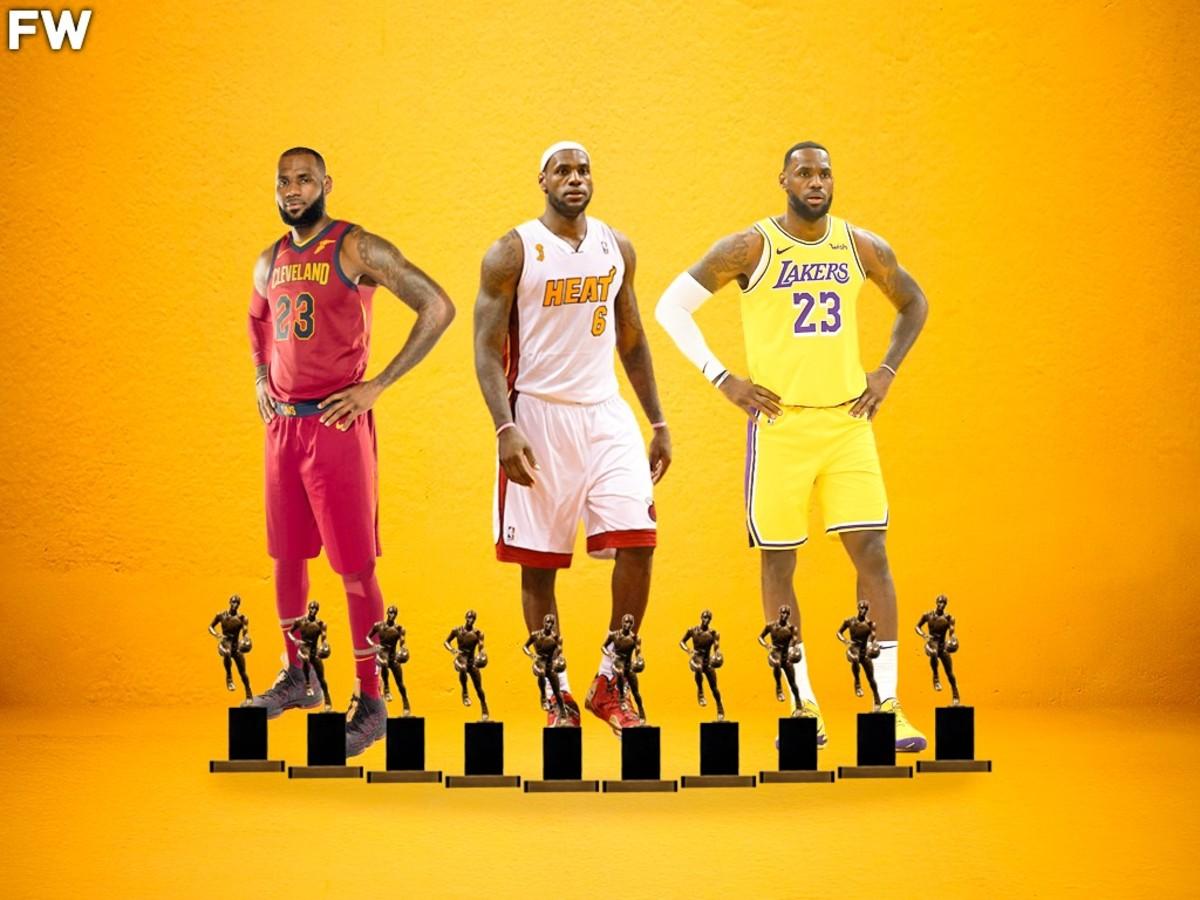 Kyle Kuzma Says LeBron James Should Have Won At Least 8, 9, 10 MVP Awards