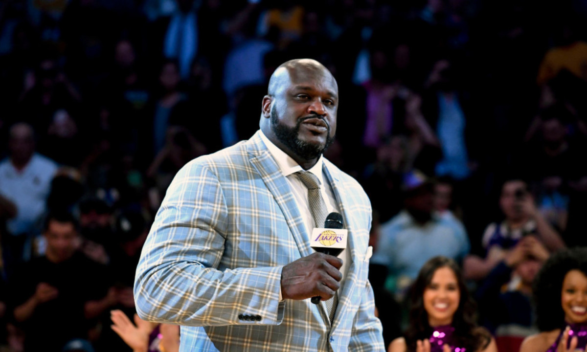 """Shaq O'Neal Is Taking A New Approach: """"My Mother Pulled Me Aside Last Night And Said 'Baby Take It Easy On The Young Guys,' So You're Going To See A New Approach From Me Talking About These Bums."""""""