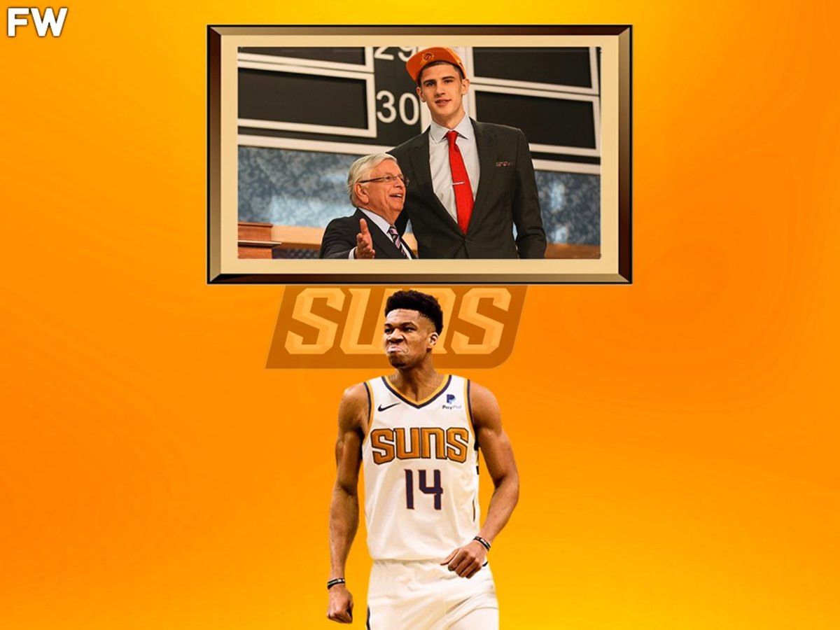 Giannis Antetokounmpo Phoenix Suns