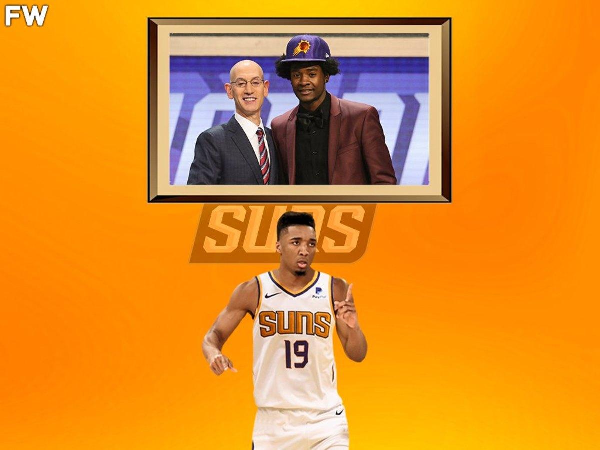 Donovan Mitchell Phoenix Suns