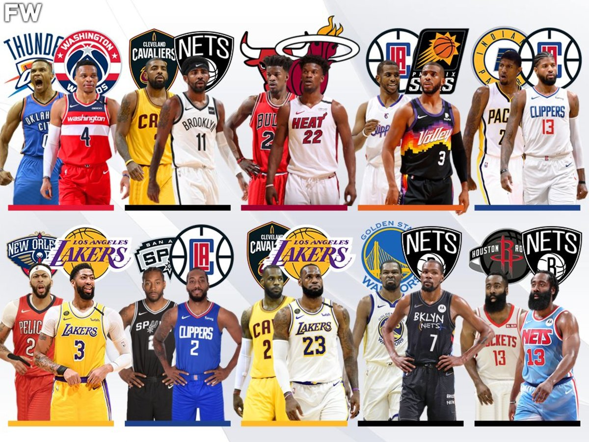 Looking Back At 2017: 10 Superstars Have Changed Teams And The NBA Landscape