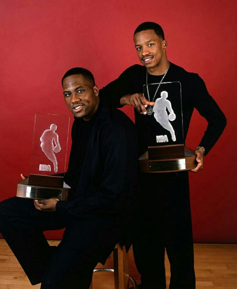 Elton Brand and Steve Francis Tie For Best Rookie