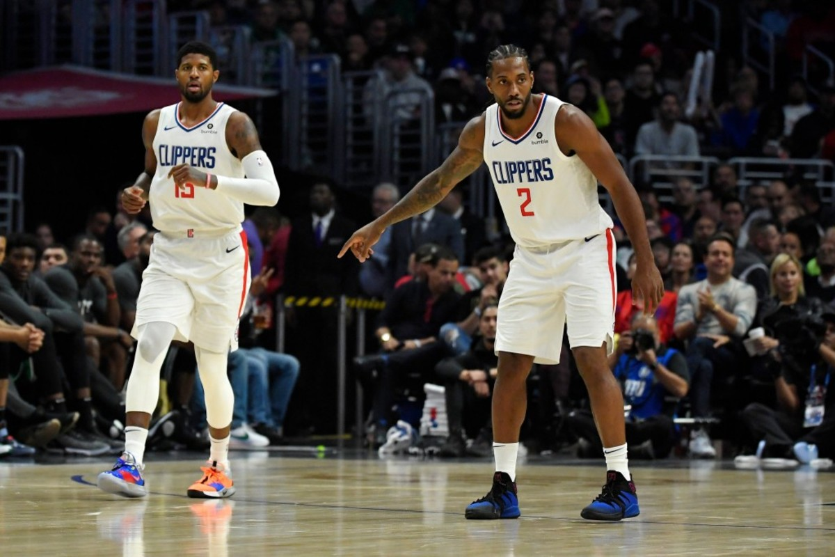 Paul George And Kawhi Leonard Decided To Team Up In LA When They Met At Drake's House