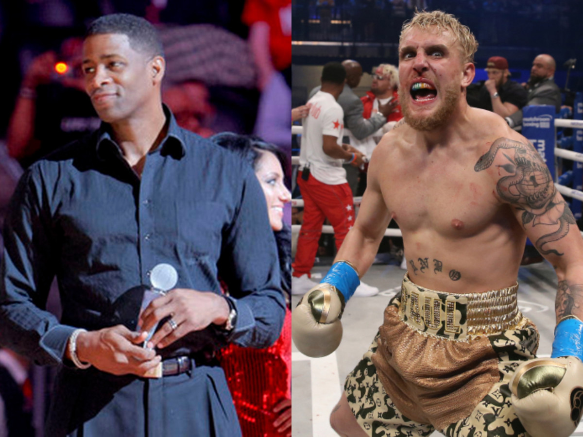 Former NBA Player Kendall Gill Wants To Fight Jake Paul Next