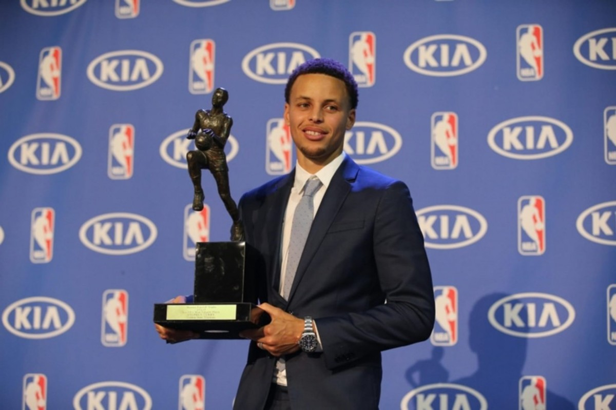Stephen Curry 2015 MVP