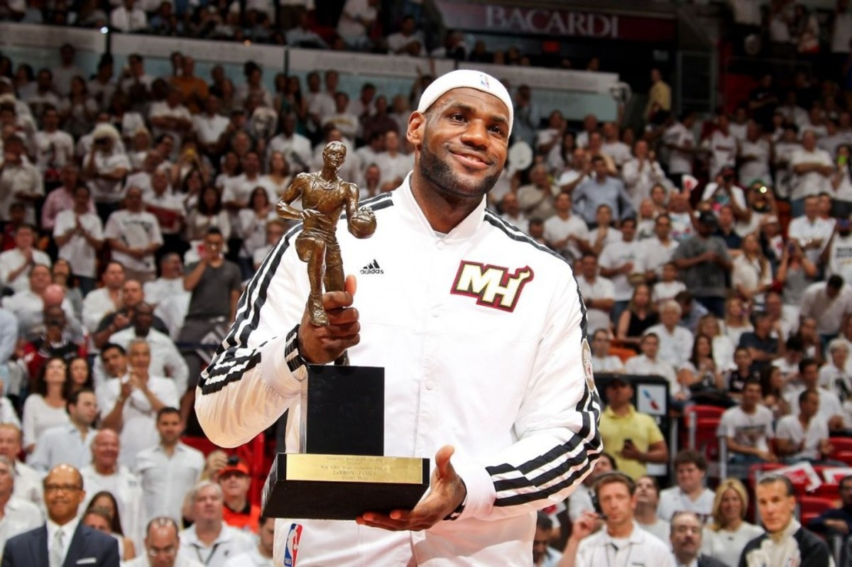 LeBron James 2013 MVP