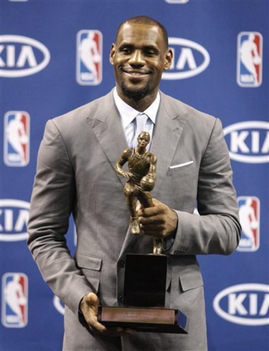 LeBron James 2012 MVP