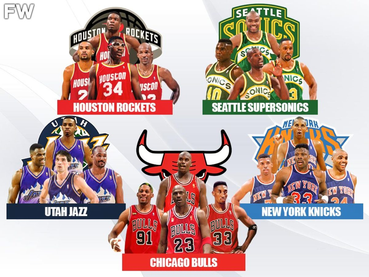The 5 Best Superteams That Could Have Been Created In 1990s If Superstars Wanted To Play Together