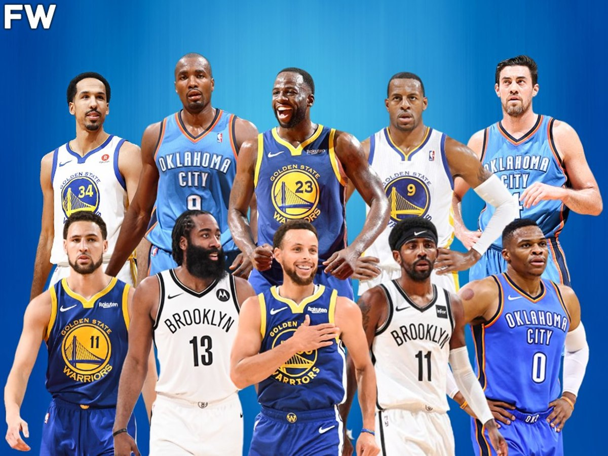 Ranking The 10 Greatest Teammates That Kevin Durant Has Ever Had In His Career