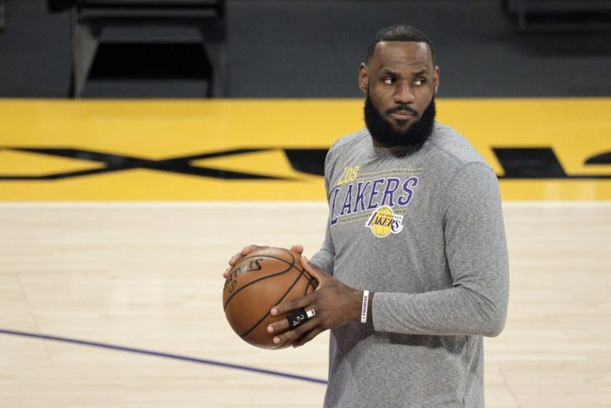 LeBron James Explains Why He Deleted A Controversial Tweet: 'I Took The Tweet Down Because It's Being Used To Create More Hate...'