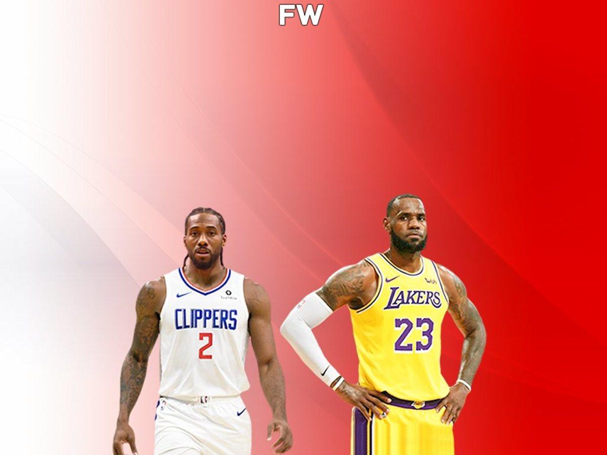 Kawhi Leonard vs. LeBron James