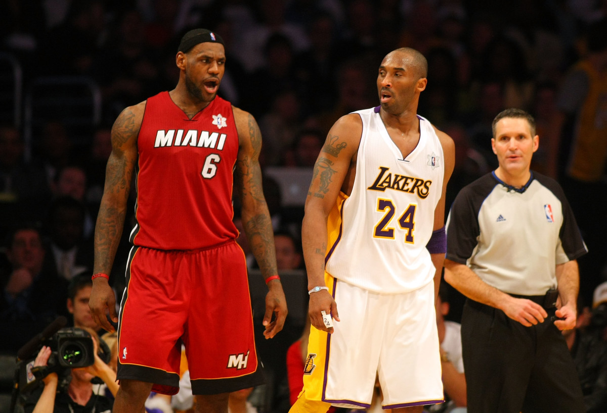 Chris Bosh Reveals Who He'd Rather Take The Last Shot, Kobe Bryant Or LeBron James