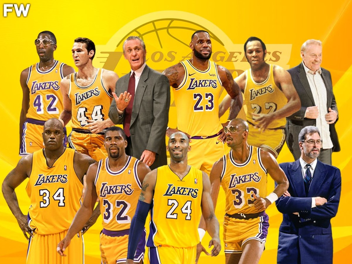 Ranking The Top 10 Most Important Lakers Of All-Time: Kobe Bryant Leads The Purple And Gold Legends