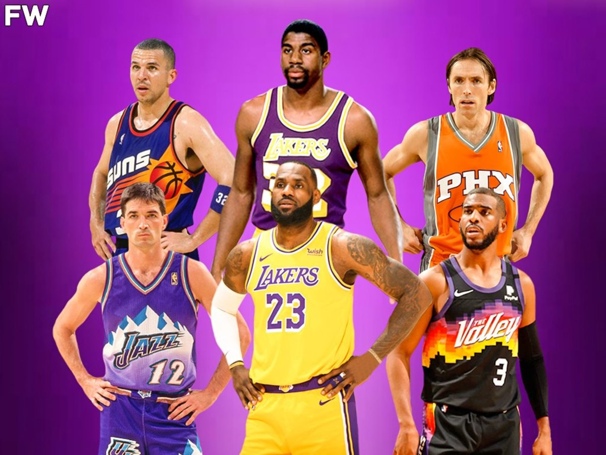 Gilbert Arenas Selects 5 Greatest Point Guards Of All Time