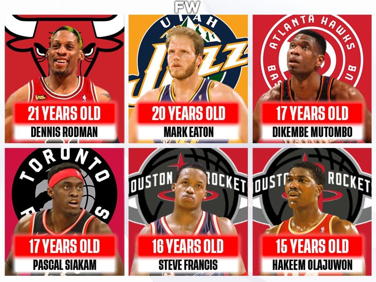 10 NBA Players Who Started Playing Basketball Late: Dennis Rodman Began Playing At 21 Years Old