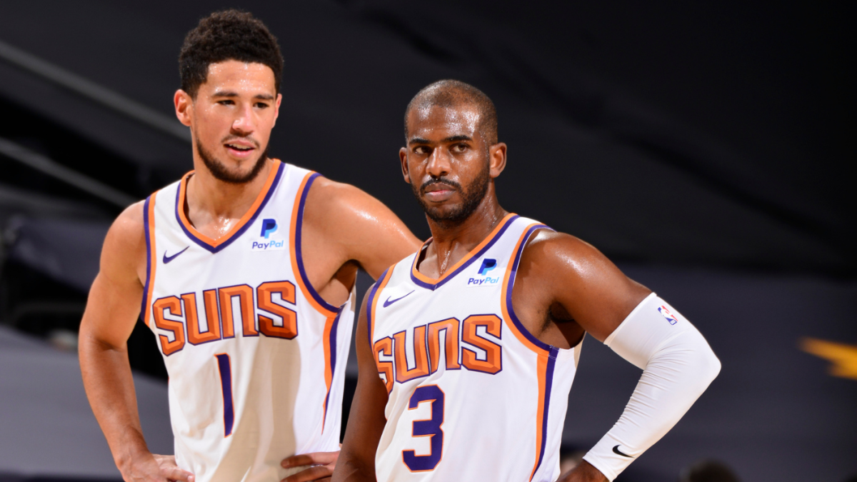 "Chris Paul On Devin Booker's First Playoff Appearance- ""I'm Just Happy The World Is Finally Getting To See Him."""