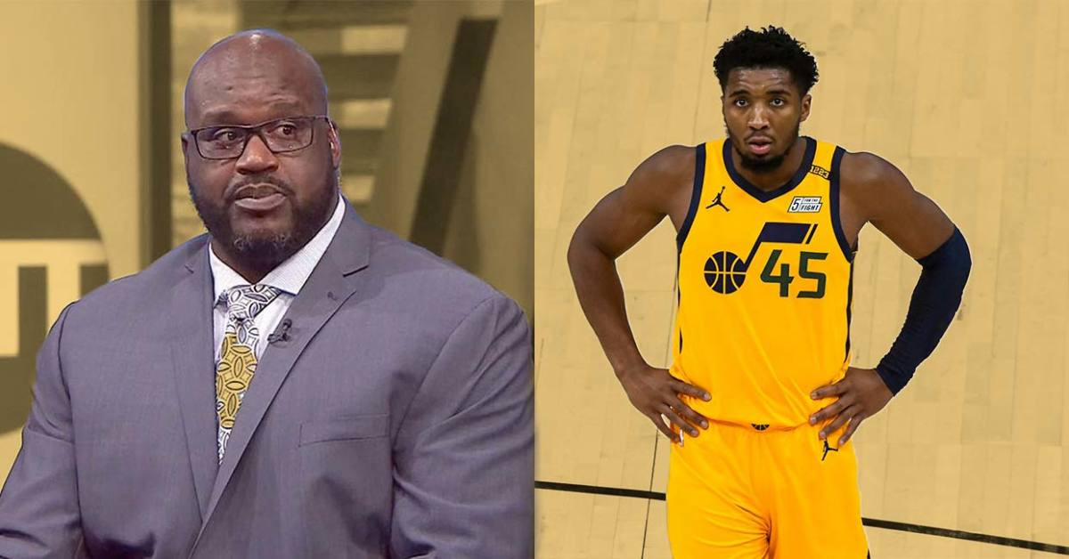 "Shaq O'Neal Defends His Comments About Donovan Mitchell- ""I Was Just Testing His Temperature..."""