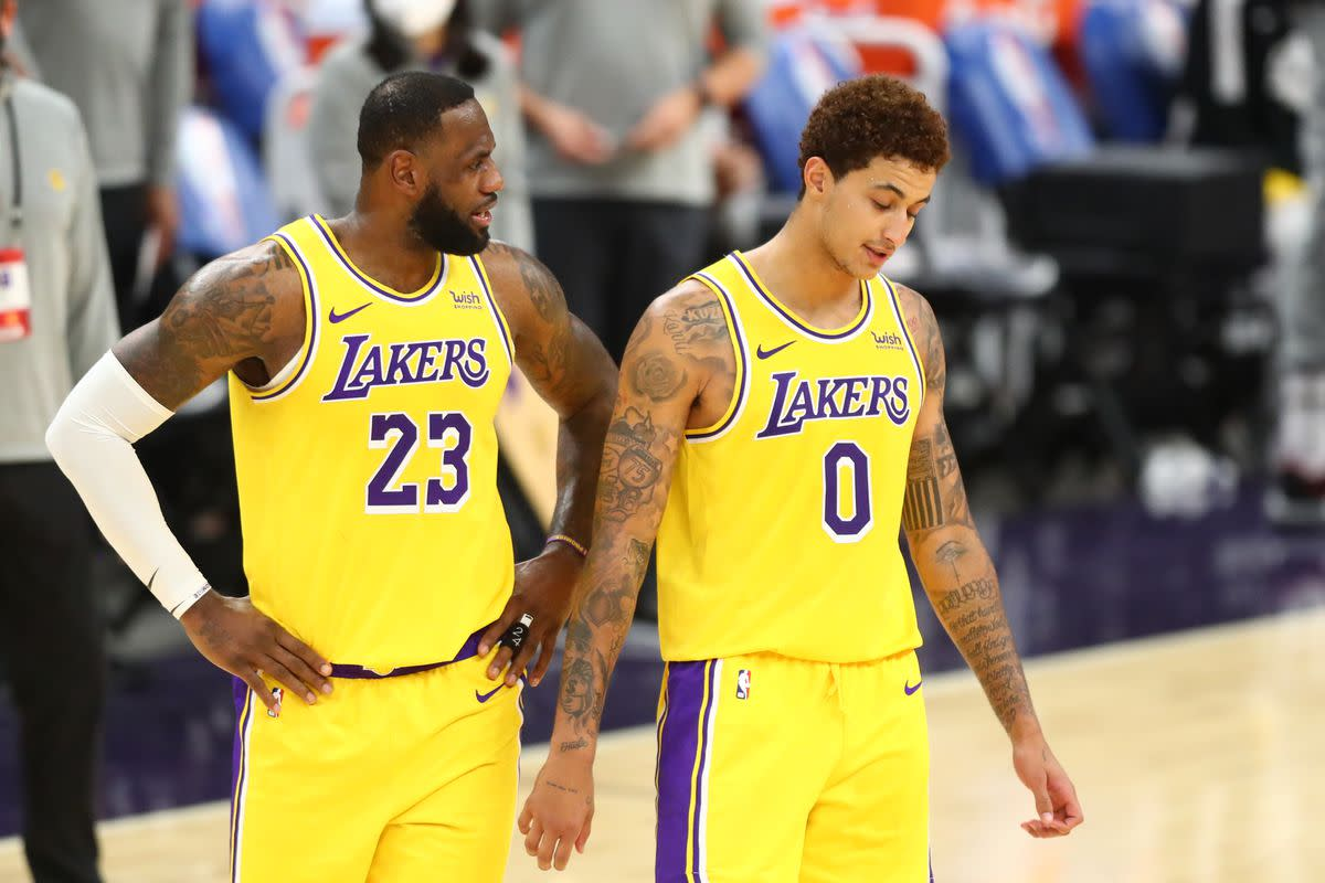 """Kyle Kuzma On Lakers' Struggles- """"I Just Don't Think We're Connected Right Now."""""""