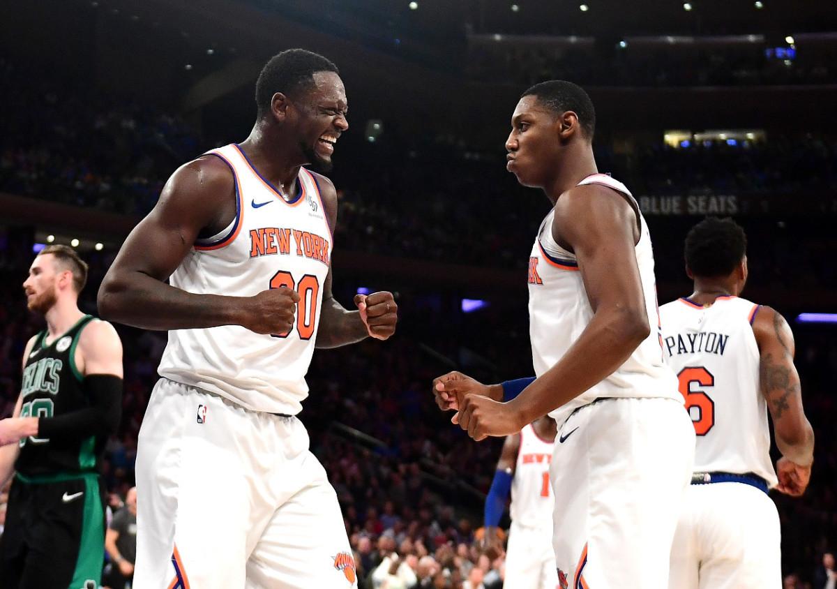 NBA Responds After Knicks Clinch Their First Winning Season Since 2013