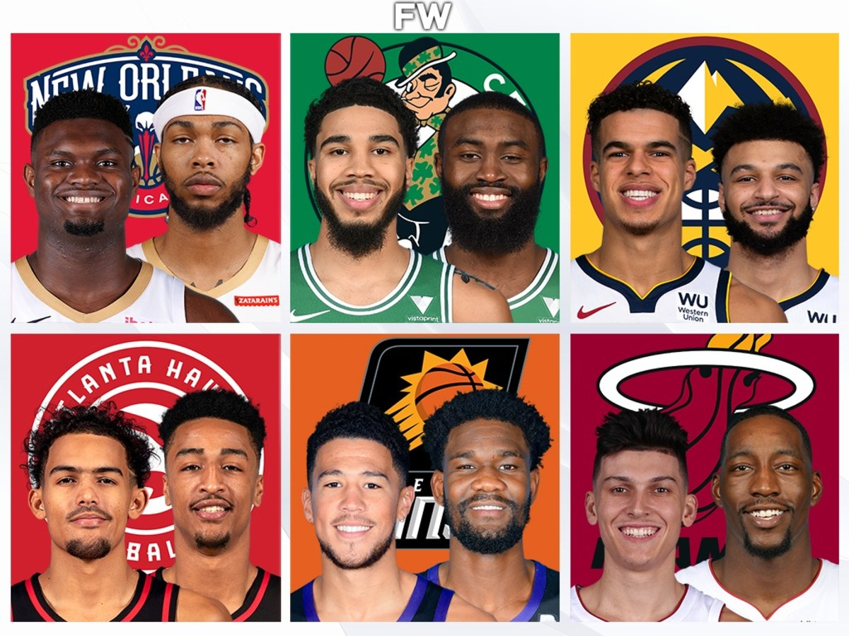 Ranking The 10 Best NBA Duos Under 25