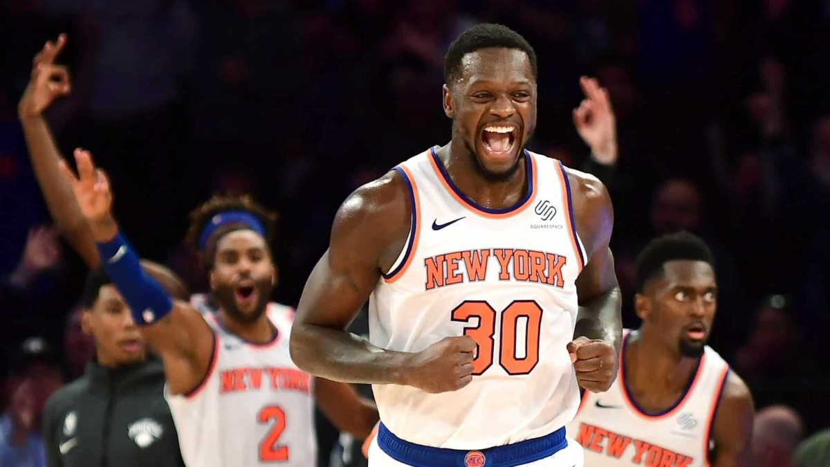 """Kendrick Perkins Says The Knicks Are A Threat To """"Any Team In The Eastern Conference."""""""
