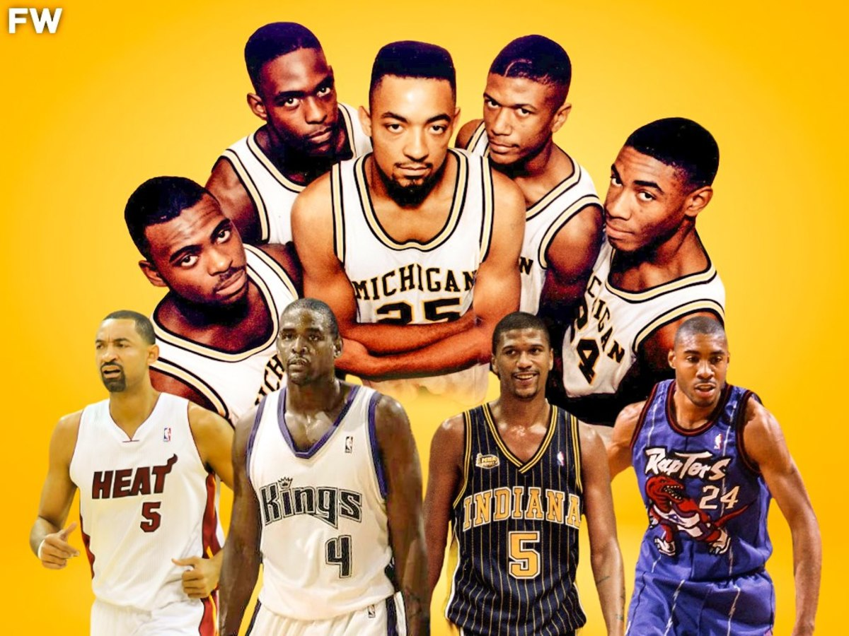 Remembering The Careers Of the Fab-Five: Chris Webber, Jalen Rose, And Juwan Howard Had Successful NBA Careers