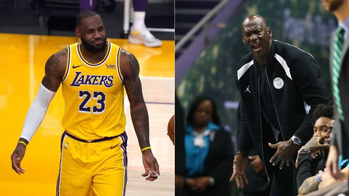 """Former NBA Champion Compares LeBron James To Wizards Michael Jordan- """"It's Hard Go Compare What Their Passion Is They're Just Different..."""""""