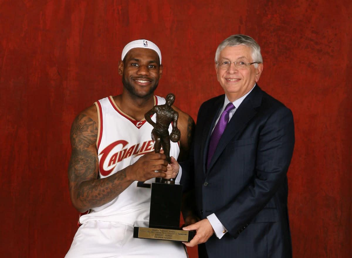 LeBron James MVP 2009
