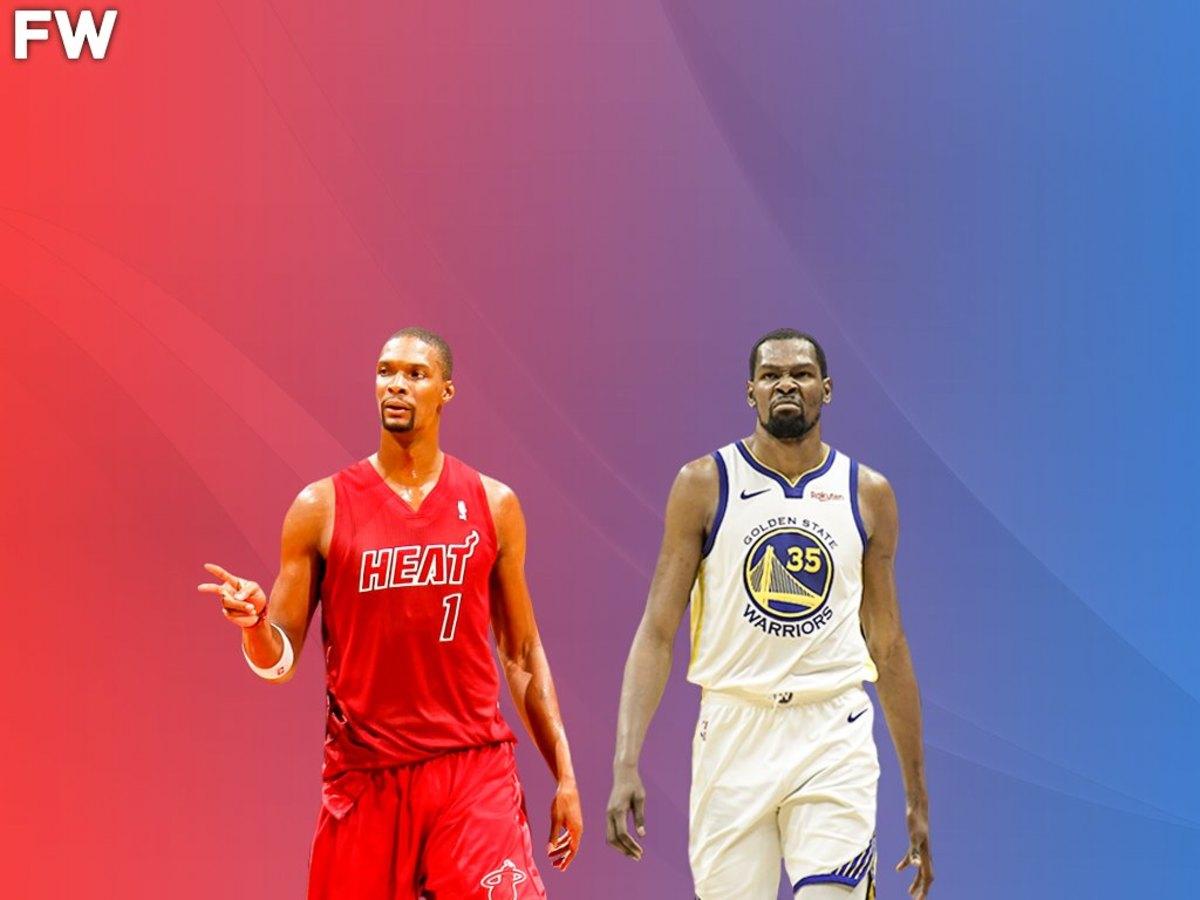 Chris Bosh vs. Kevin Durant