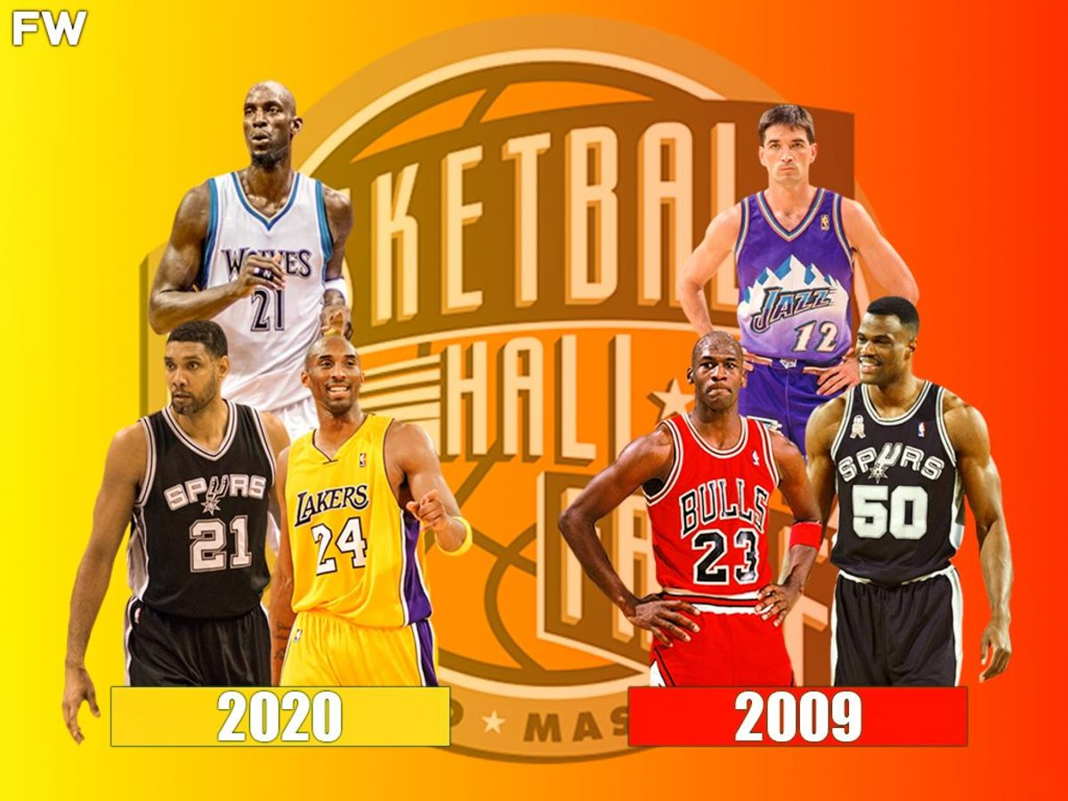 Kobe Bryant's Hall Of Fame Class Is Better Than Michael Jordan's Hall Of Fame Class, Per HoopsHype